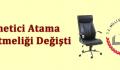 Yönetici Atama Yönetmeliği Değişti