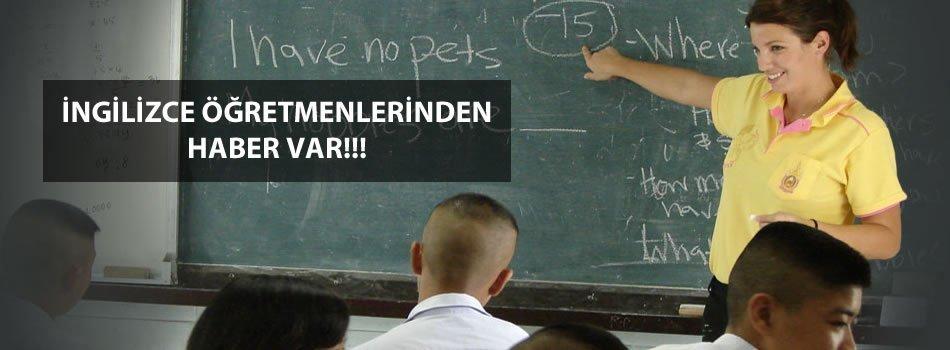 İngilizce Öğretmenleri Atama İstiyor
