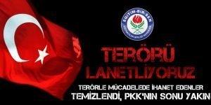Terörle mücadelede ihanet edenler temizlendi, PKK'nın sonu yakın