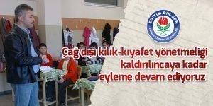 Eğitim Bir-Sen:Kıyafet eylememiz devam ediyor