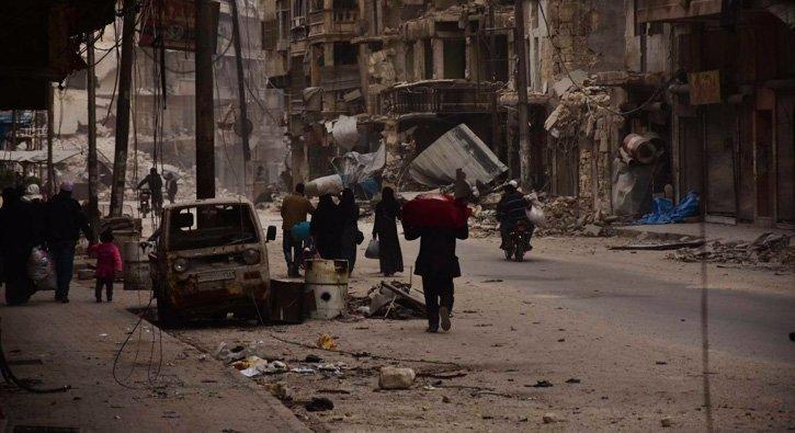 Halep'ten son çığlık