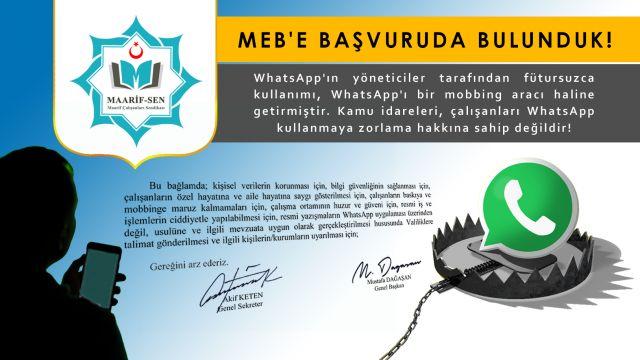 Whatsapp Yeni Bir Mobbing Aracıdır!